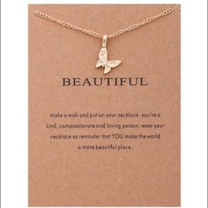 NWT Beautiful Necklaces with Card